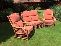 Conservatory Furniture - 3 Piece Suite