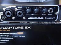 Roland Duo Capture EX UA22 USB MIDI AUDIO INTERFACE