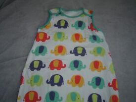 Mothercare sleeping bag 0-6 Months 1 tog