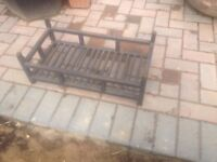 Fire grate for open fire place