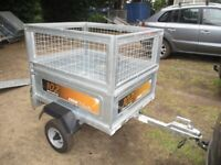 2018 ERDE 102 GOODS TRAILER WITH FULL MESH KIT.........