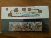 Lord Mayors show stamp presentation set.