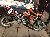 Ktm sx 65 2009 ** swap for the best 85 offered or cash sale**