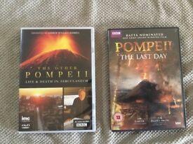 Pompeii dvd's