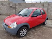 2004 FORD KA 1.3 IDEAL FIRST CAR NEW MOT 51000 MILES NO RUST VERY VERY CLEAN