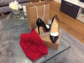 Christian louboutin Pigalle 120 patent 41.5