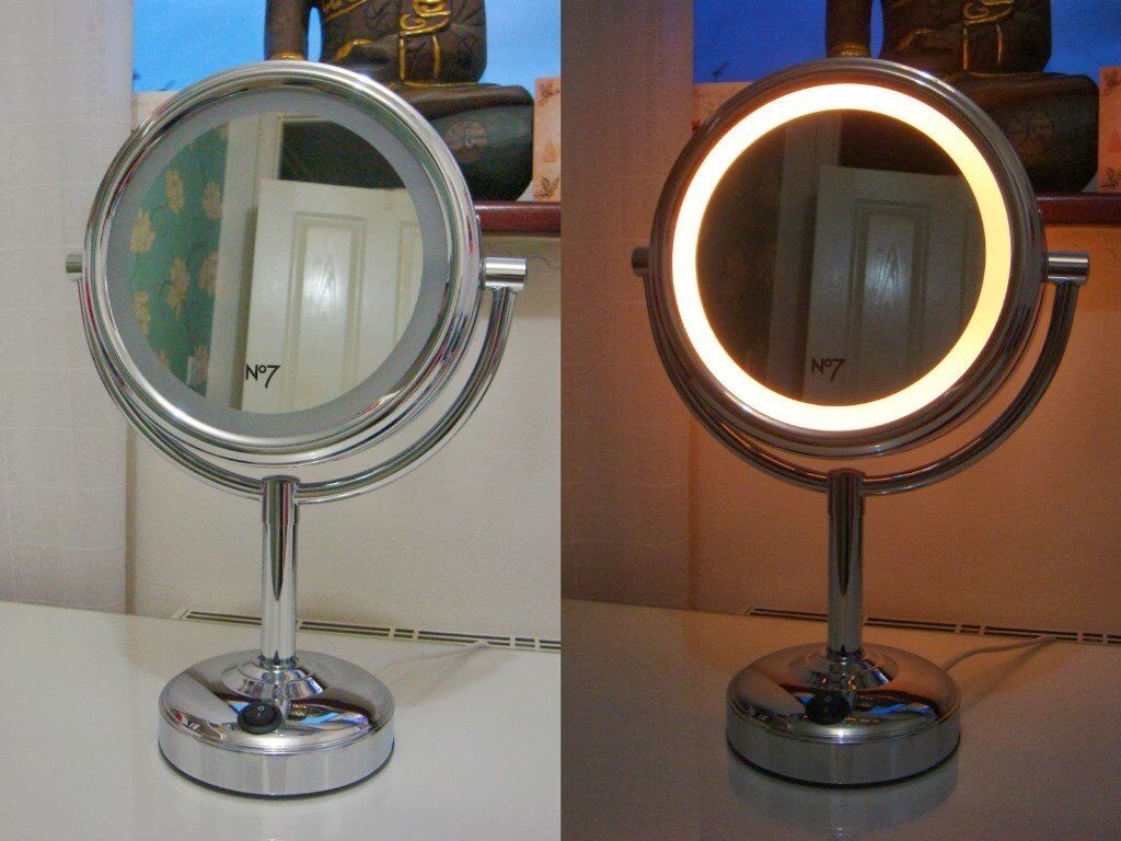 No7 Illuminated Makeup Mirror Bulb Makeupview Co
