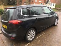 2013/63 Vauxhall zafira tourer 7 seater mpv diesel automatic