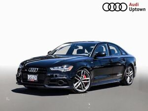 2017 Audi S6 4.0T W/DRIVERS ASSIST & HEAD UP