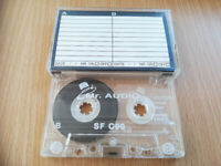 MR. AUDIO SF C90 SUPER FERRIC BLANK AUDIO CASSETTE TAPE CAN POST TO AN