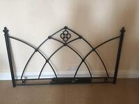 Gothic style bedboard