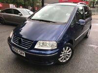 55 plate - vw sharon sport tdi PD - 1.9 tdi - 7 seater - 6 months mot - 2 former keepers