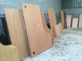 Selection of flat pack office desks