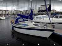 DEHLER 25 TRAILER SAILER