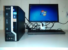 Acer Veriton X2610G - i3 2120. 4GB, 500GB HDD £80