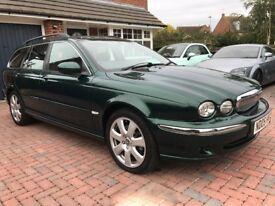 2005 Jaguar X-Type SE 2.0 Diesel Manual Estate Metallic Green