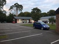 AIR CONDITIONED OFFICE SUITES TO LET WITH PARKING SECURE GATED 24 HR CCTV QUIET RURAL LOCATION.