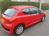 Peugeot 207 1.4 M:Play 5dr***2007. Low Mileage** One Year MOT  with no Advisory.