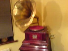 Gramophone in working order Repro