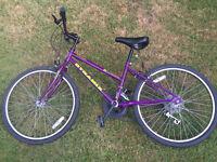 Girls Purple DYNAMIX Mountain Bike 23'' tyres - up to 10 Speed Shimano