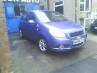 CHEVROLET AVEO 1.4 AUTOMATIC LONG MOT PX WELCOME