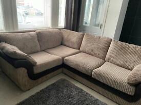 Corner sofa see pics
