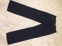 Original Hugo Boss dark blue trousers W32 L32 £10