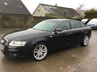 08 AUDI A6 2.0 TDI S-LINE LEATHER AUTO SAT NAV P/EX WELCOME