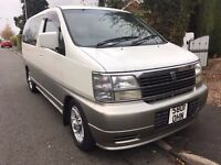 98S Nissan Elgrand 3.1 TD AUTO V SPEC 8 SEATER TOP CONDITION FULL MOT HISTORY A1 CONDITION PX SWAPS