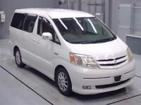 Toyota Alphard 2.4 hybrid electric 8 seater fresh import from japan