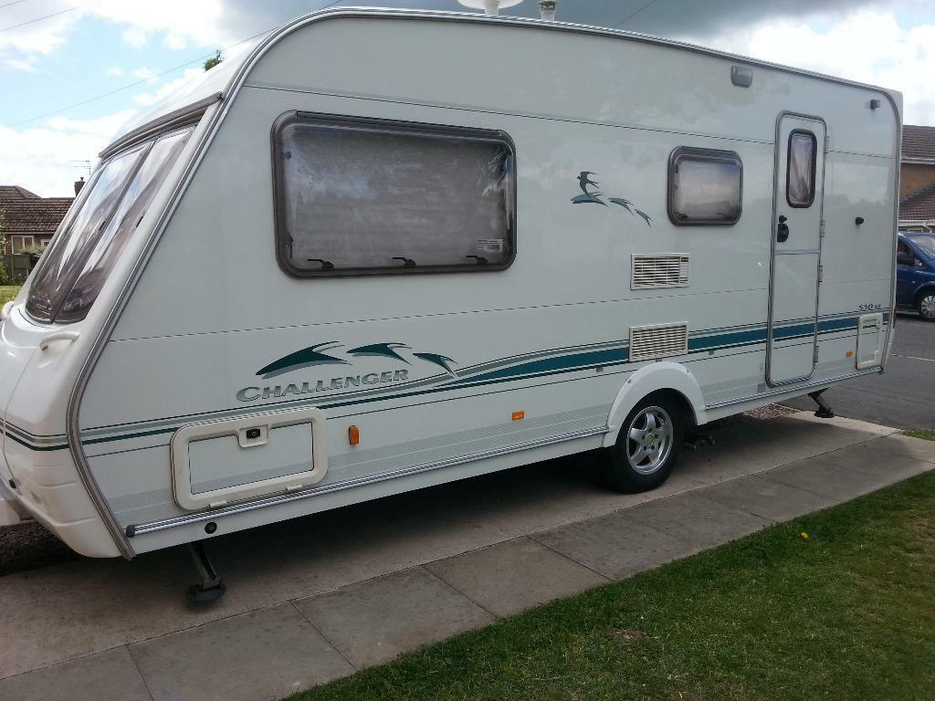 SWIFT CHALLENGER 530 SPECIAL EDITION 2002 4 BERTH FAMILY TOURER