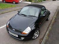 Black 2004 Ford StreetKA Luxury edition