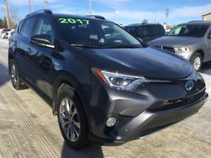 2017 Toyota RAV4 LTD, ONE OWNER, 23,870 KM