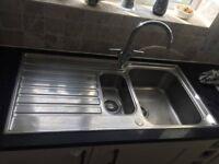 Franke Ascona sink 18/10 stainless steel 1.5 Bowl 1000x 510mm