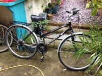Saxon Savannah Ladies Hybrid / Commuter / City Bike - 24 Shimano Gears