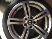 BMW Genuine 18 inch alloys
