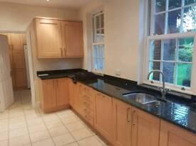 huge kitchen and granite worktops..