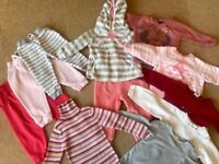 Baby Girl Clothes Bundle - size 1