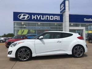 2016 Hyundai Veloster TURBO - Sunroof, Nav, LOW, LOW KMS