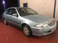 2002 Rover 45 2.0td diesel very low mileage service history