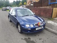 Rover 25 swops for renault scenic