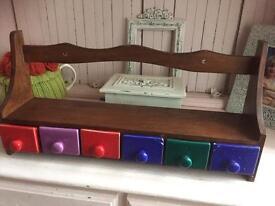 Cute Shelf & Ceramic Drawers