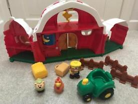 My little farm toy farmhouse and animals