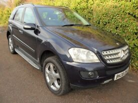 MERCEDES BENZ M CLASS 3.0 ML320 CDI SPORT 7G TRONIC 5 DR SERVICE HISTORY AND BILL