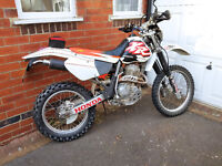 Honda XR 400R 1999 Enduro Road legal 6 month mot in great condition