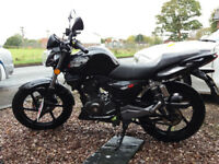 Nearly new Keeway RKS 125 - 239 miles on clock - £1050.00 ONO -perfect condition. A years MOT..