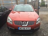 Nissan Qashqai 2.0 Tekna 2WD 5dr *1F Keeper* Full Leather Seats *99000 Miles only* 3-Months Warranty