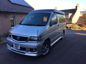 Mazda Bongo Friendee 2.5l Diesel Automatic Camper Van 4WD