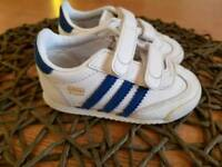 Adidas and vans boys shoes sz 4