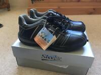 Black Trainer Style Steelite Hiking Shoes